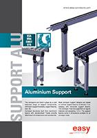 aluminiumben för rullbana